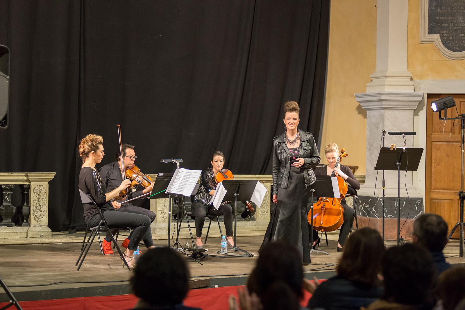 Diana Higbee & le Quatuor Musica